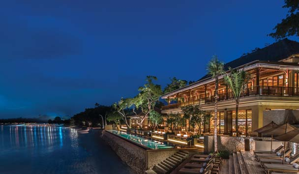 Four Seasons Resort Bali at Jimbaran Bay: Exterior