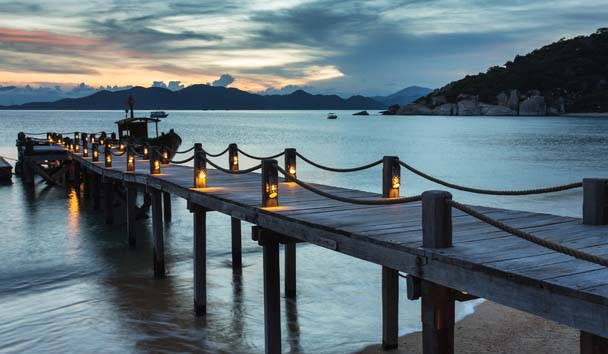 Six Senses Ninh Van Bay: Jetty