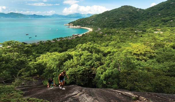 Six Senses Ninh Van Bay: Bai Nho Hiking