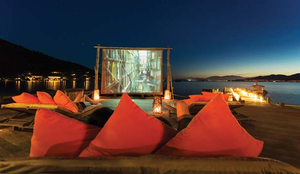 Six Senses Ninh Van Bay: Cinema Under The Stars