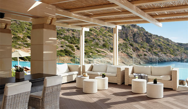 Daios Cove Luxury Resort & Villas: Lounge Area