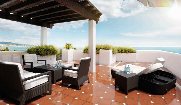 Puente Romano Marbella: Royal Suite Terrace