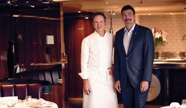 Seabourn Ovation - World-renowned chef, Thomas Keller