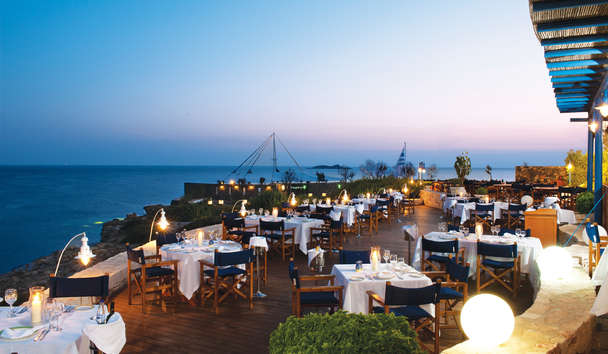 Grand Resort Lagonissi: Ouzeri Restaurant