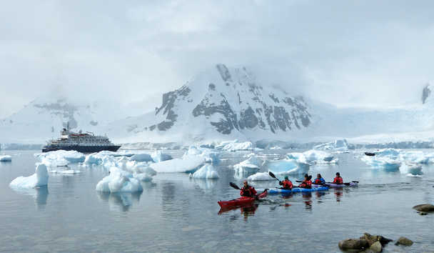 Antarctica: A Voyage to The Bottom of The Earth