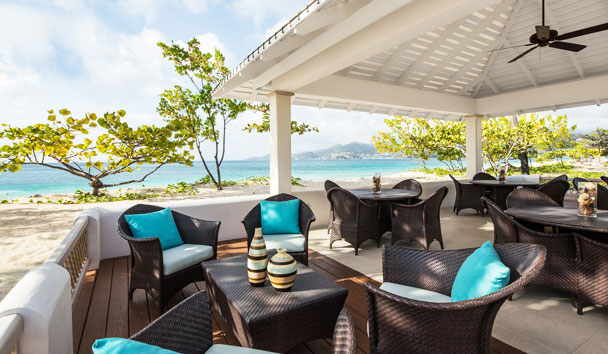 Spice Island Beach Resort: Sea and Surf Terrace