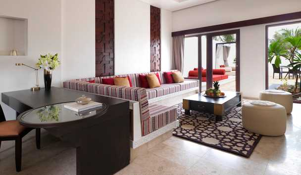 Al Baleed Resort Salalah by Anantara: One Bedroom Beach Villa Pool