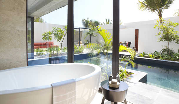 Al Baleed Resort Salalah by Anantara: One Bedroom Garden View Pool Villa