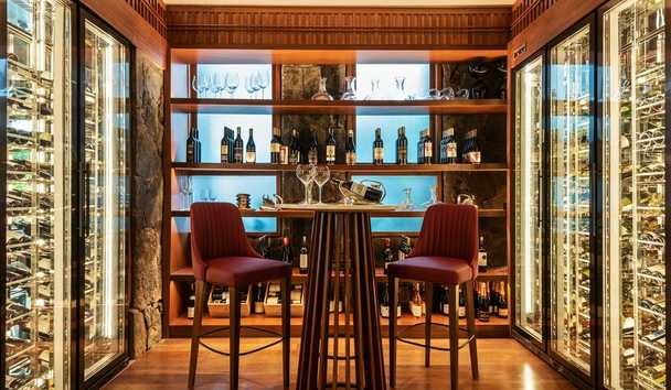 The Datai Langkawi: The Dining Room Wine Cellar
