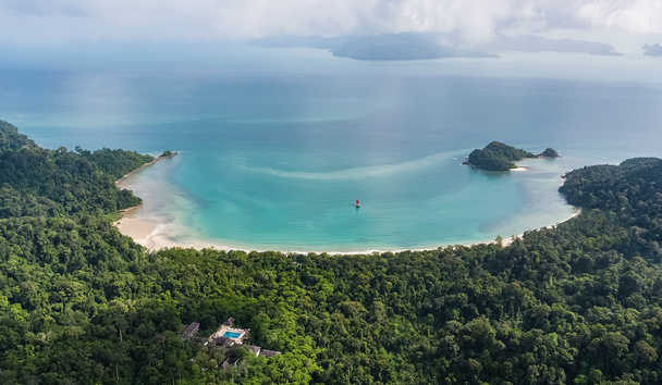 The Datai Langkawi: Aerial View