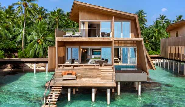 The St. Regis Maldives Vommuli Resort: Two Bedroom Family Villa