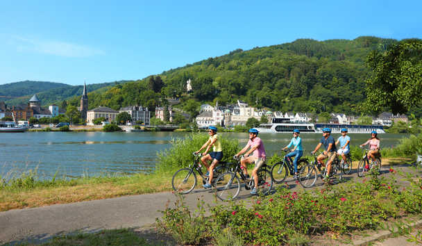 AmaWaterways - Cycling excursion along the Moselle