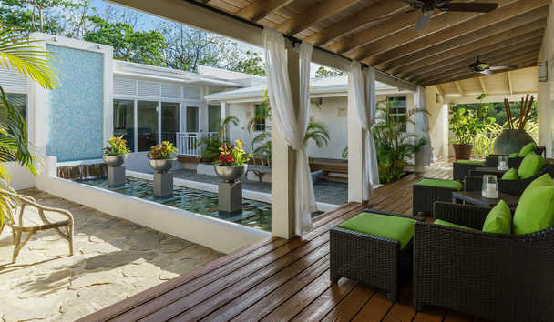 Spice Island Beach Resort: Janissa Spa Terrace